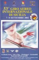 AVIAZIONE GENERALE GIRO AEREO DI SICILIA 2002.+2 - Manifestazioni