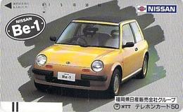NISSAN - AUTO  - VOITURE - AUTOMOBILE - CAR -- TELECARTE JAPON - Auto's