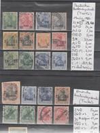 TIMBRES D ALLEMAGNE (TURKEI)NEUF* OBLITEREES  Nr VOIR SUR PAPIER AVEC TIMBRES  COTE 228.80   € - Alemania