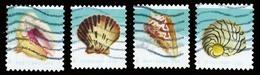 Etats-Unis / United States (Scott No.5163-6 - Shells) (o)set - Verenigde Staten