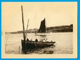 Finistère * Douarnenez Bateaux De Pêche - Photo Vers 1930 - Places