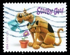 Etats-Unis / United States (Scott No.5299 - Scooby-Doo) (o) - Used Stamps