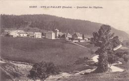 (46)   OYE Et PALLET - Quartier De L' Eglise - France