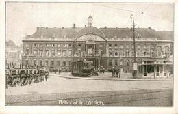 43488754 Luettich Truppen Auf Dem Wege Zum Bahnhof Luettich - Autres