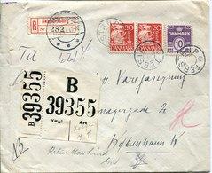 45535 Danmark, Cover Circuled  1942 From  Skandenborg - 1913-47 (Christian X)