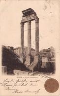Cartolina Roma Commemorativa Anno Santo 1900 Foro Romano - Roma