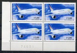 RC 12909 FRANCE PA N° 63 AIRBUS A300-B4 BLOC DE 4 A LA FACIALE NEUF ** TB - Airmail