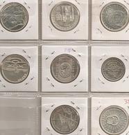 PORTUGAL SERIE COMPLETA 500$ 8 PECAS/COINS 90G SILVER DIFICILLE - Portugal