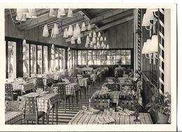 CPSM  En  GF  Et  En  NB  De  MESSERY  (74)  -  Hôtel - Restaurant  De  La  Pointe  -  Salle  Du  Restaurant   //   TBE - Messery