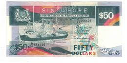 Singapore , 50 Dollars , P-22. XF+. - Singapore