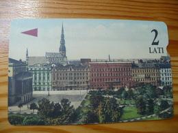 Phonecard Latvia - Magnetic - Latvia