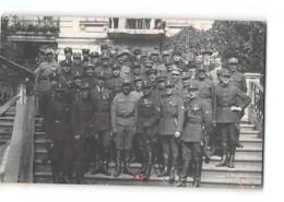 CPA Carte Photo Vladivostok Wladiwostok Staff Of The Czech Legion - Russie