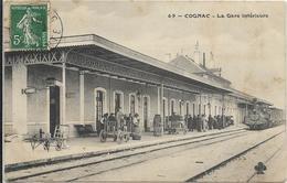 COGNAC-La Gare Intérieure - Cognac