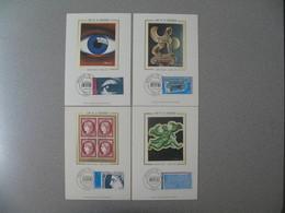 Carte Maximum 1975    N° 1830 à 1833 Arphila 75 Paris - 1970-79