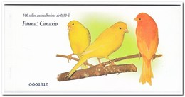 Spanje 2007, Postfris MNH, Birds, Canario ( Booklet, Carnet ) - 1931-Tegenwoordig: 2de Rep. - ...Juan Carlos I