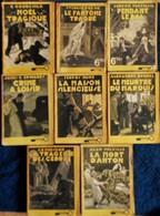 """Romans Policiers Collection """" La Clé """" - Lot De 8 Romans - Éditions ROUFF - ( 1946 ) . - Livres, BD, Revues"""