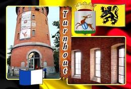 Postcards, REPRODUCTION, Municipalities Of Belgium, Turnhout, Duplex IX, 51 Pcs. (397 To 447) - Maps
