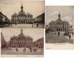 CHAUMONT - 3 CPA De L' Hotel De Ville - Cachet Militaire Sur Une Carte  (114293) - Chaumont