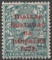 ~~~ Ierland Ireland 1922 - Provisional Overprint  - Mi. 18 I (o)  ~~~ - 1922 Voorlopige Overheid