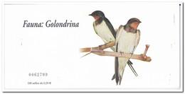 Spanje 2006, Postfris MNH, Birds, Golondrina ( Booklet, Carnet ) - 1931-Tegenwoordig: 2de Rep. - ...Juan Carlos I
