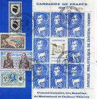 Commémoration Des Batailles De MONTMIRAIL Et CHATEAU-THIERRY - Napoléon