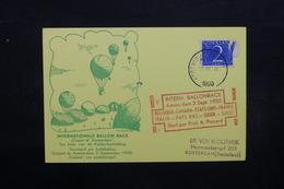 PAYS BAS - Carte Par Ballon En 1950 ,  Voir Cachets - L 31871 - Periode 1949-1980 (Juliana)