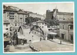 FIUME RIJEKA PONTE SULL'ENEO 1942 - Croazia