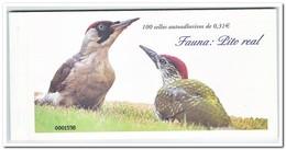 Spanje 2008, Postfris MNH, Birds, Pito Real ( Booklet, Carnet ) - 1931-Tegenwoordig: 2de Rep. - ...Juan Carlos I