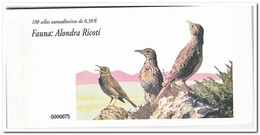 Spanje 2007, Postfris MNH, Birds, Alondra Ricoti ( Booklet, Carnet ) - 1931-Tegenwoordig: 2de Rep. - ...Juan Carlos I