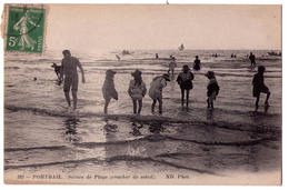4961 - Portbail ( 50 ) - Scènes De Plage ( Coucher De Soleil ) - N°392 - N.D. Phot. - - Sonstige Gemeinden
