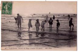 4961 - Portbail ( 50 ) - Scènes De Plage ( Coucher De Soleil ) - N°392 - N.D. Phot. - - Andere Gemeenten