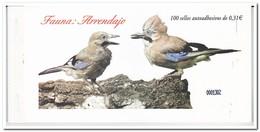 Spanje 2008, Postfris MNH, Birds, Arrendajo ( Booklet, Carnet ) - 1931-Tegenwoordig: 2de Rep. - ...Juan Carlos I