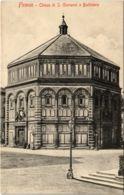 CPA Firenze Chiesa Di S. Giovanni O Battistero ITALY (801436) - Firenze