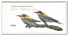 Spanje 2008, Postfris MNH, Birds, Abejaruco Comun ( Booklet, Carnet ) - 1931-Tegenwoordig: 2de Rep. - ...Juan Carlos I