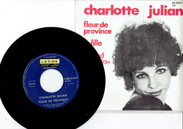 Charlotte Julian : Fleur De Province + La Fille Du Grand Buffalo-Bill (Omega Jukebox) - Disco, Pop