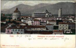 CPA Pisa Panorama Coi Principali Monumenti ITALY (801299) - Pisa
