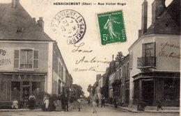 DPT 18 HENRICHEMONT Rue Victor Hugo - Henrichemont