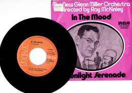 The New Glenn Miller Orchestra : In The Mood + Moonlight Serenade (RCA) - Jazz