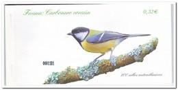 Spanje 2009, Postfris MNH, Birds, Carbonero Comun ( Booklet, Carnet ) - 1931-Tegenwoordig: 2de Rep. - ...Juan Carlos I
