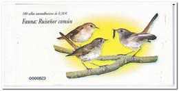 Spanje 2007, Postfris MNH, Birds, Ruisenor Comun ( Booklet, Carnet ) - 1931-Tegenwoordig: 2de Rep. - ...Juan Carlos I