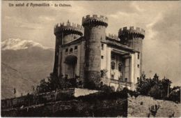 CPA Un Salut D'Aymavilles Le Chateau ITALY (801273) - Altre Città