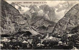 CPA Valle D'aosta Courmayeur Capoluogo ITALY (801190) - Altre Città