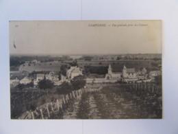 Dampierre (Maine Et Loire) N°22 - Vue Générale Prise Des Coteaux - Carte Circulée En 1908 - Altri Comuni