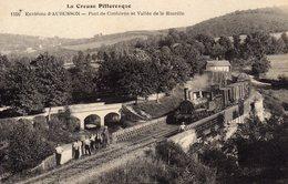 DPT 23 Environs D'AUBUSSONS Pont De Confolens Et Vallée De La Rozeille - Aubusson