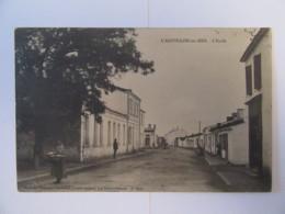 L'Aiguillon Sur Mer (Vendée) - L'Ecole - Carte Animée, Non-circulée - Frankrijk