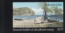 Montserrat Souvenir Booklet Of Self Adhesive Stamps ** - Montserrat