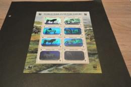 GR579 - Bloc MNH Mongolia 2000 - WWF - Hologrammed - Przewqalski's Horse - Non-normalised Hsipment - W.W.F.