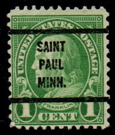 "USA Precancel Vorausentwertung Preo, Locals ""SAINT PAUL"" (MINN). - United States"