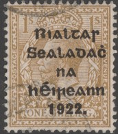 ~~~ Ierland Ireland 1922 - Provisional Overprint  - Mi. 23 (o)  ~~~ - Usati