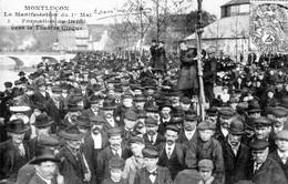 CPA De MONTLUCON - La Manifestation Du 1er Mai (1906). Formation Du Défilé Vers Le Théâtre-cirque. - Montlucon